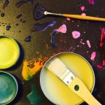 photo of encaustic paints and tools